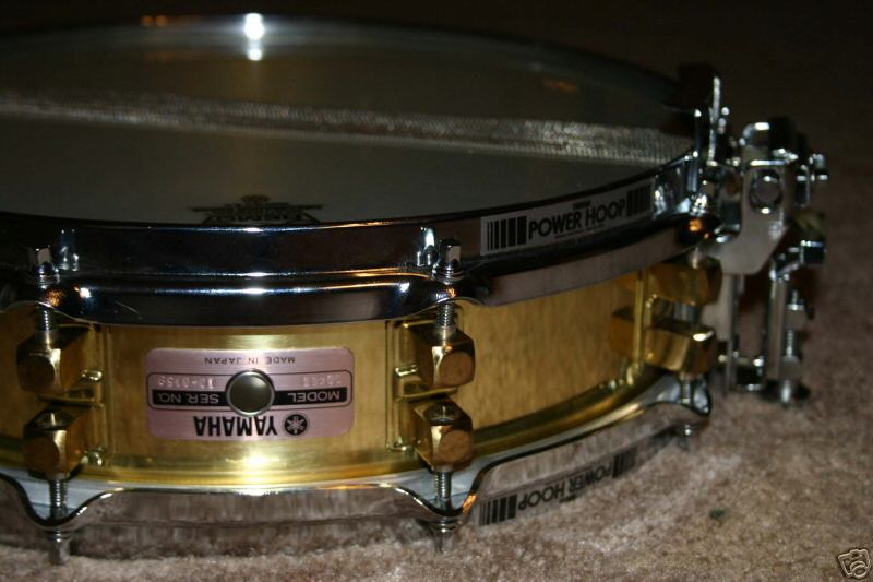 Yamaha Brass Piccolo Snare Drum